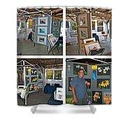 Warren Art In The Park Shower Curtain