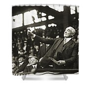 Warren G. Harding Shower Curtain by Granger