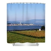 Warrenpoint From Carlingford, Co. Down Shower Curtain