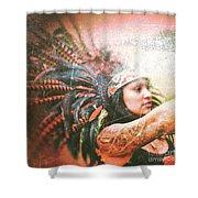 Warrior Dance Shower Curtain