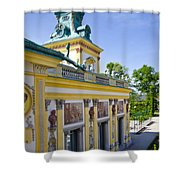 Warsaw Poland - Wilanow Palace Shower Curtain