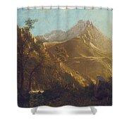Wasatch Mountains Shower Curtain