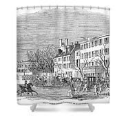 Washington, D.c., 1853 Shower Curtain