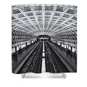 Washington Dc Metro Station II Shower Curtain