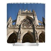 Washington National Cathedral Entrance Shower Curtain