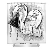Washington: Saddle Shower Curtain