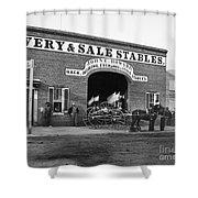 Washington: Stables, 1865 Shower Curtain