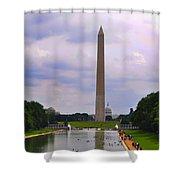 Washington - The Gathering Storm Shower Curtain