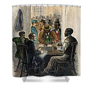 Washington: Voting, 1867 Shower Curtain
