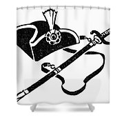 Washingtons Birthday Shower Curtain