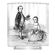 Washingtons Stepchildren Shower Curtain