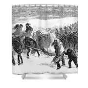 Washita Prisoners, 1868 Shower Curtain