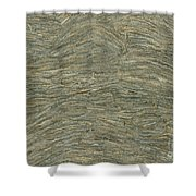 Wasp Paper Shower Curtain