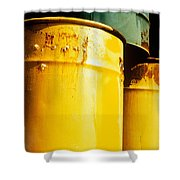 Waste Drums Shower Curtain