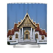 Wat Benchamabophit Ubosot Dthb1239 Shower Curtain