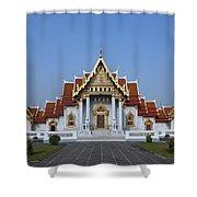 Wat Benchamabophit Ubosot Dthb279 Shower Curtain