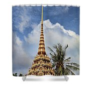 Wat Chalong 5 Shower Curtain