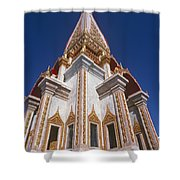 Wat Chalong Exterior Shower Curtain