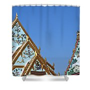 Wat Chamni Hatthakan Gables Dthb934 Shower Curtain