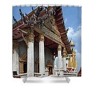 Wat Intarawiharn Ubosot Dthb1277 Shower Curtain