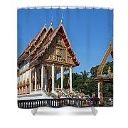 Wat Kan Luang Ubosot Dthu179 Shower Curtain