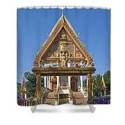 Wat Kan Luang Ubosot Gate Dthu181 Shower Curtain