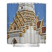 Wat Phitchaya Yatikaram Central Prang Dthb1189 Shower Curtain