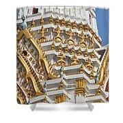 Wat Phitchaya Yatikaram Central Prang Dthb1191 Shower Curtain