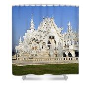 Wat Rong Khun Shower Curtain