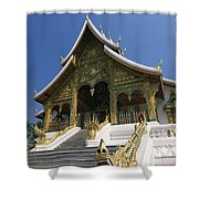 Wat Sen Dragons Shower Curtain