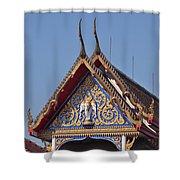 Wat Thewarat Kunchorn Gable Dthb286 Shower Curtain