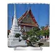Wat Thong Nopphakhun Ubosot Dthb1169 Shower Curtain