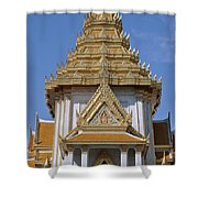 Wat Traimit Phra Maha Mondop Of The Golden Buddha Dthb1100 Shower Curtain