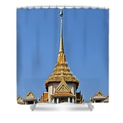 Wat Traimit Phra Maha Mondop Of The Golden Buddha Dthb956 Shower Curtain
