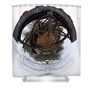 Watchtower Shower Curtain