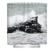 Water 0004 Shower Curtain