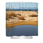 Water By The Ocean Shower Curtain
