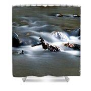 Water Cascades Shower Curtain