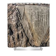 Water Dam Shower Curtain