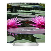 Water Lilies Shower Curtain by Bill Cannon