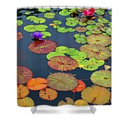 Water Lilies I Shower Curtain