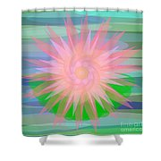 Water Lily 2012 Shower Curtain
