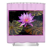 Water Lily Magic Shower Curtain