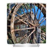 Water Mill Shower Curtain
