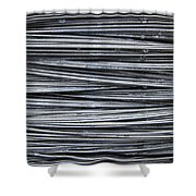 Water On Wire Shower Curtain