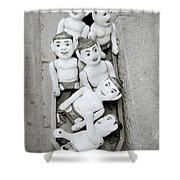 Water Puppets In Hanoi Shower Curtain