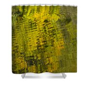 Water Reflection Abstract Autumn 1 D Shower Curtain