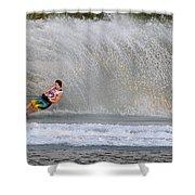 Water Skiing 16 Shower Curtain