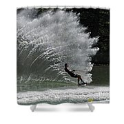 Water Skiing 20 Shower Curtain