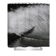 Water Skiing 5 Shower Curtain